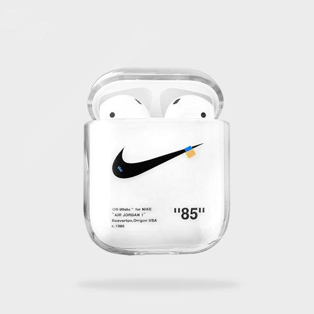 Off White For Nike Custom Airpod Case Airpod Case Case Custom Nikes