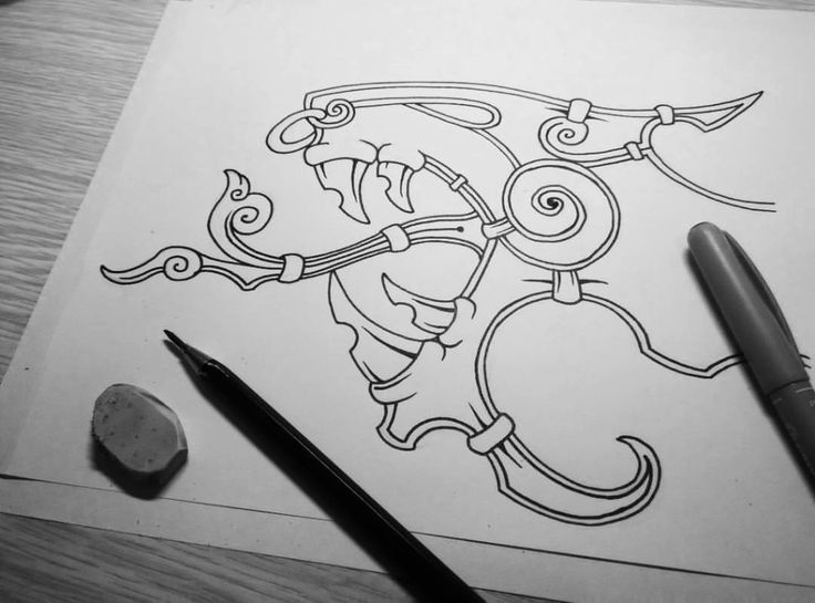 WIP of Wyrm #wip #drawing #sketch #doodle #illustration #linework #dotwork #blackandwhite #black #ink #wyrm #snake #serpent #dragon #tattoo #tattoodesign #norse #viking #pagan #czech #liberec (v místě Liberec, Czech Republic)