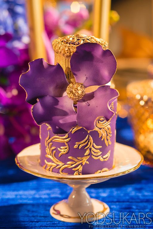 Royal Blue and Magenta - Winter Wedding Ideas
