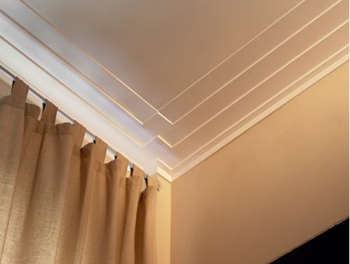 suttle Art deco crown molding could be used throughout loft to give it that deco-ary (deco/contempoary) feel