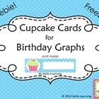 Download these colorful polka dot Cupcake Cards to use in your classroom to make a birthday graph or to hang on the wall with student names and bir...