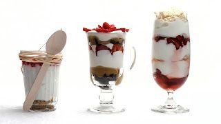 Три десерта без выпечки:  Чизкейк, Трайфл, Итонский десерт