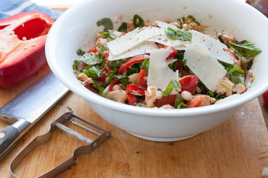 Variety is the herb and spice of life… Chilli Tuna Herb Salad