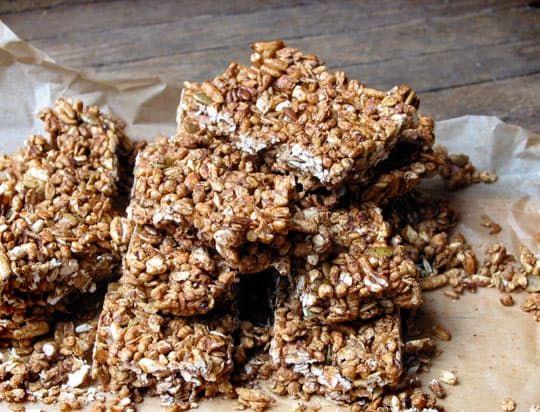 Recipe: Crunchy Granola Bars — Cookbook Recipe