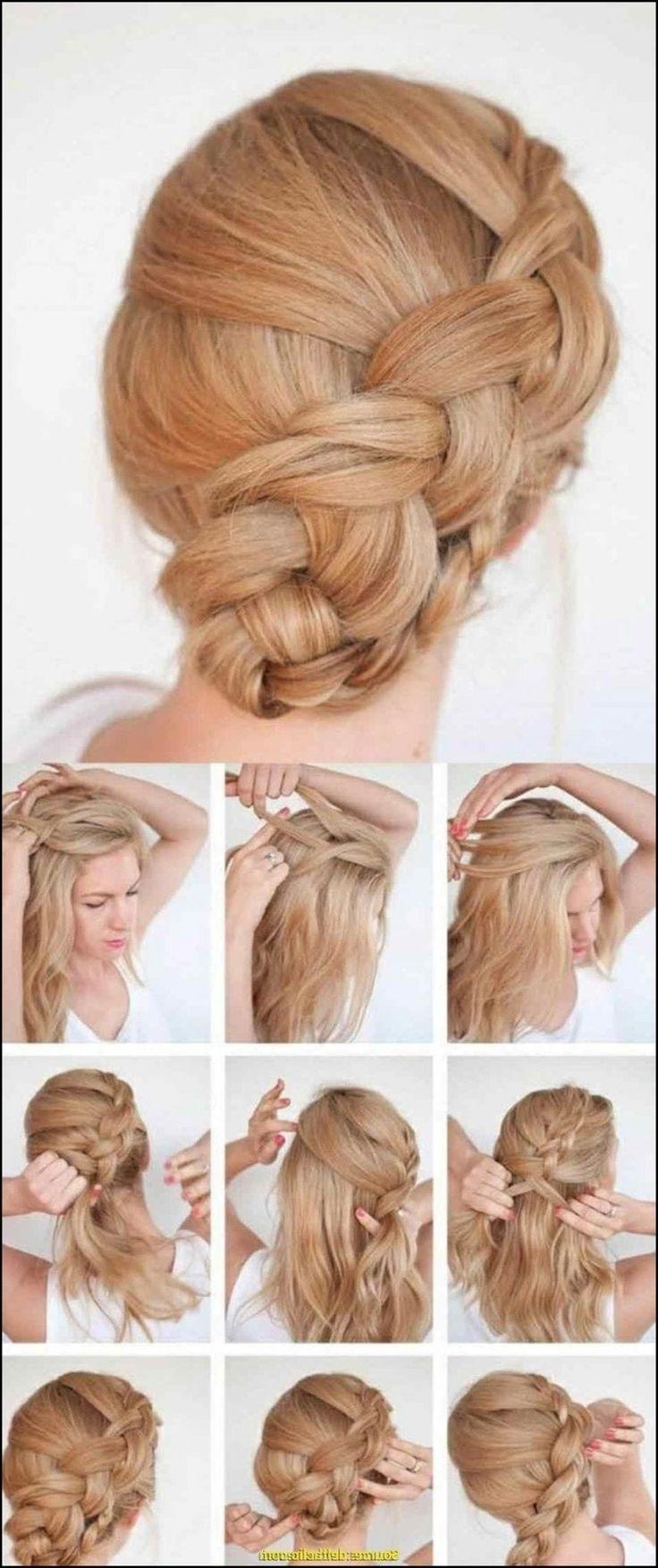 Elegant Ideen Von Einfache Frisuren Lange Haare Mit Einfache