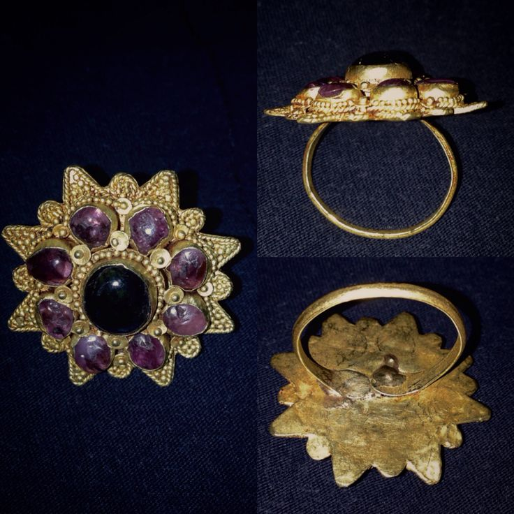 balinese ring.......old jewelry#gold material
