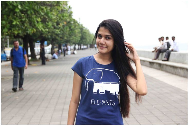 """""""Do you have any funny incidents related to elephants in your life?""""  """"Well, yes. It was near Malad station, when I was going to the market with my Dadi. I saw an elephant being fed bananas. As much as I love them, I was scared of them too so, I tried moving away but suddenly its tail came from behind hitting me hard on my head. Oh, that terrifying moment!""""  Chimply Speakng!"""