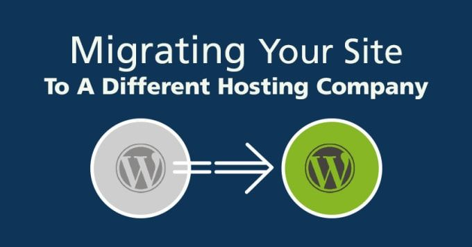 28++ Move wordpress site to new host information