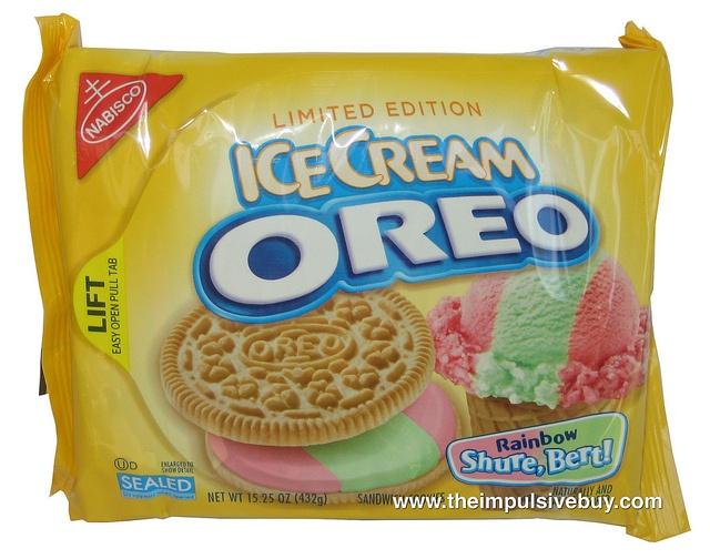 Limited Edition Ice Cream Oreo Rainbow Shure, Bert! review