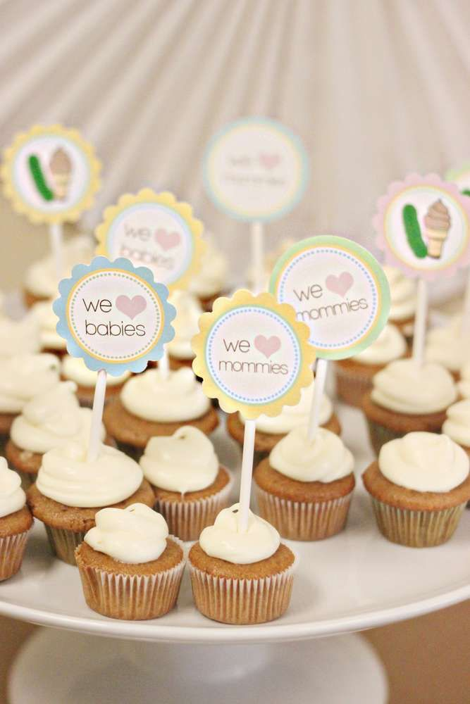 Captivating Joint Baby Shower Baby Shower Party Ideas