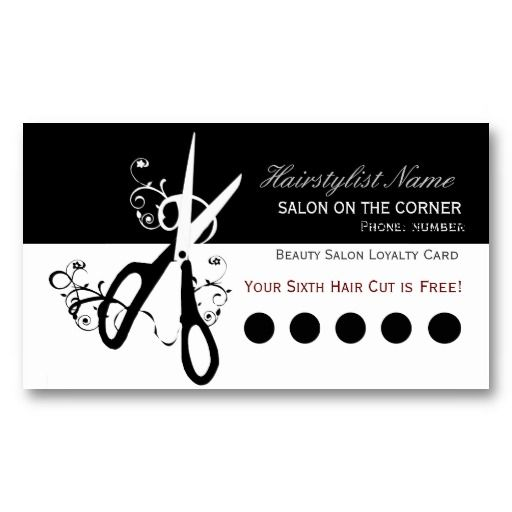 38 best images about hairstylist business cards on for Hair salon business card template