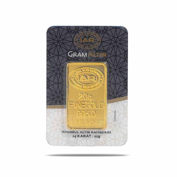 20 gr Gram Külçe Altın / GRAMALTIN