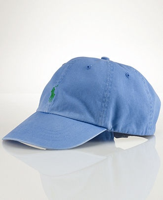 Polo Ralph Lauren Hat, Classic Chino Sport Cap - Mens Hats, Gloves & Scarves - Macy's