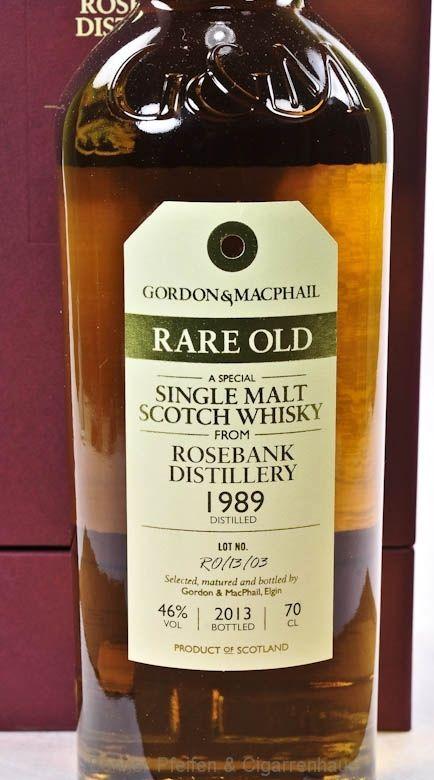 Rosebank Whisky 1989