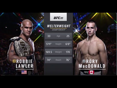 UFC 201 Free Fight: Robbie Lawler vs Rory MacDonald