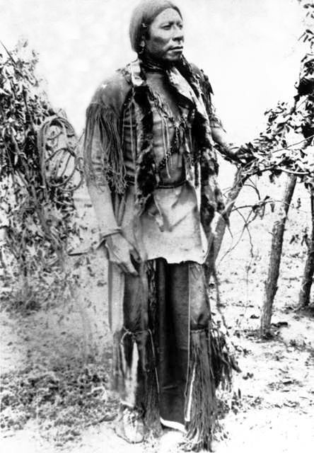 An old photograph of Peets Nah - Comanche 1910.