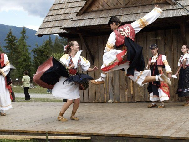 Slovak folklore dance :) Learned a few of these.