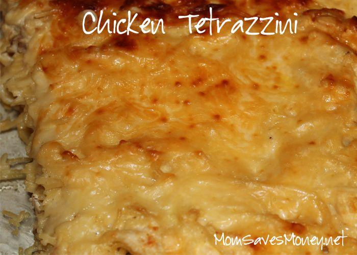 Recipe - Chicken Tetrazzini! Easy Freezer Meal ...