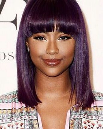 17 Best Ideas About Purple Tinted Hair On Pinterest  Plum Hair Dark Plum Ha