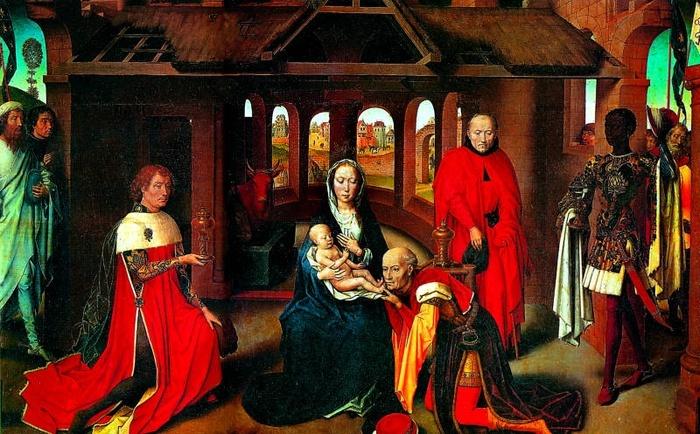2005.01 // Hans Memling, Pokłon Trzech Króli, olej na desce, ok. 1470, Muzeum Prado, Madryt