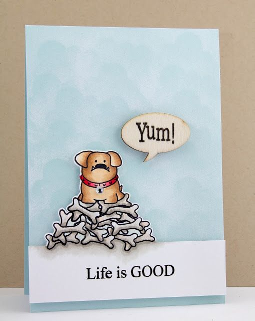 Jane's Doodles—Double Trouble, Life is Good and How Sweet stamp sets!