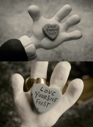 Mary and Max  How did I never make one of these when I had all the clay ???
