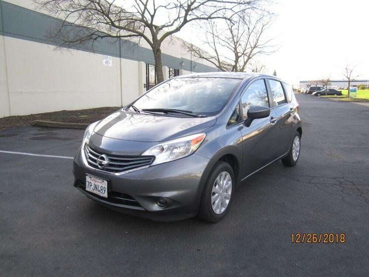 2016 Nissan Versa Note Sv Hatchback 1 6l 4 Cylinder Nissan Vehicle Shipping