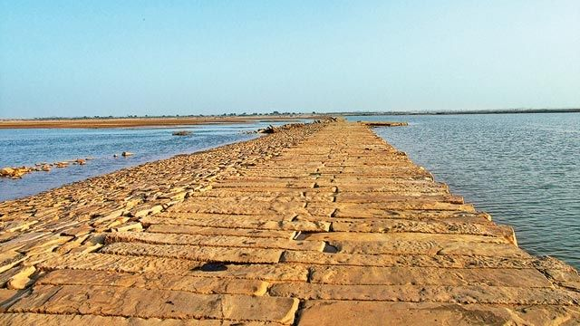 Stone causeway of Grand Trunk road discovered in Bihar - According to historians, the Uttarpath was reconstructed during Sher Shah Suri's reign in the 16th century from present-day Afghanistan to Bangladesh and was renamed GT road by the Britishers in the 17th century.