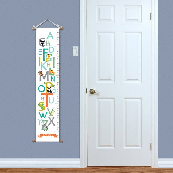 Growth Chart  Alphabet Growth Chart  Kids by ImpressionsByKrystal