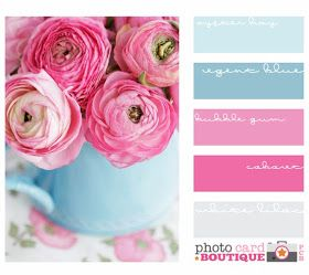 Home by Heidi: {Pink vs. Pink } id love to have a Girly room :)