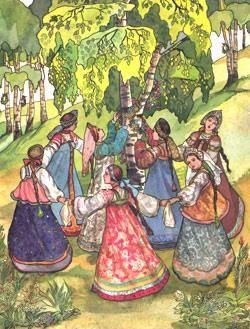Интегрированный урок русский народный костюм и музыка