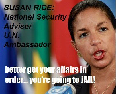 """SUSAN RICE COULD FACE UP TO 10 YEARS IN JAIL: """"leaking of signal intelligence"""" is a felony with sentence up to 10 years in jail « 70news"""