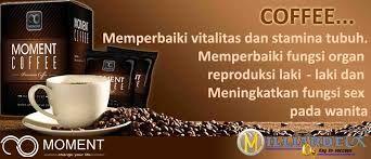 Moment Coffee Kopi Vitalitas Pria merupakan minuman penambah vitalitas pria yang akan membuat rumah tangga lebih romantis. Pemesanan hubungi PIN BB : 25D0A212