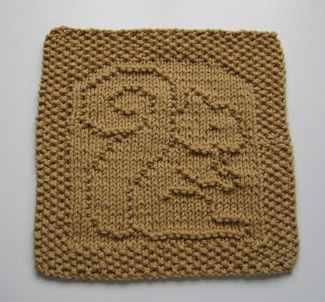 Free Squirrel Washcloth By Elaine Fitzpatrick Knitting