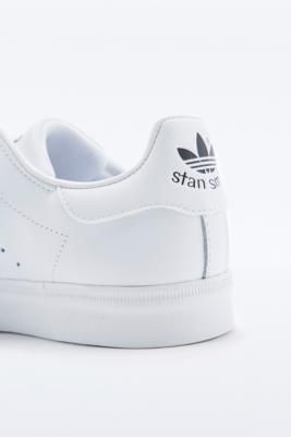 Adidas Stan Smith All White Trainers - Urban Outfitters
