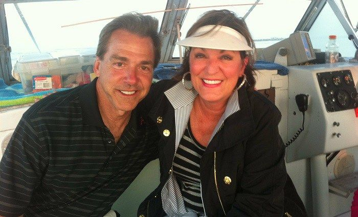 'Miss Terry' looks back at 45 years of marriage with Nick Saban
