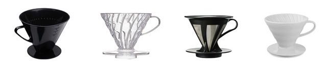 Pour Over Coffee Filter | Buyers' Guide to Pour Over/Manual Filter Coffee Makers | Galla Coffee