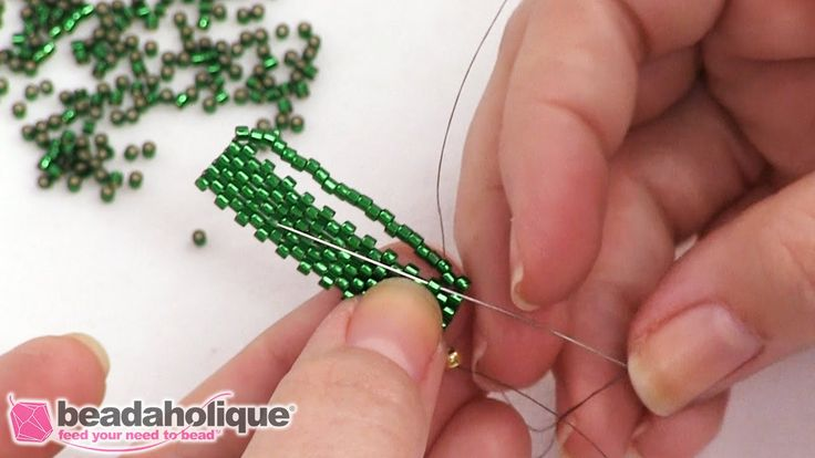 How to do fast Peyote Bead Weaving ~ Seed Bead Tutorials