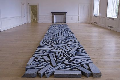 Richard Long. Online support covering all aspects of applying to art college. www.portfolio-oomph.com