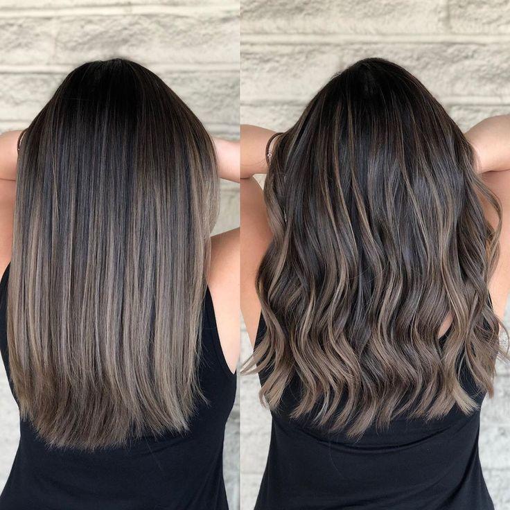 Ash brunette Color by @andrewlovescolor #pasadenahairstylist #monrovia #templecity #arcadia #lastylist #lacolorist #pasadena…