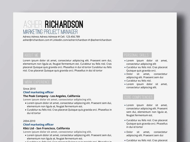 435 best Resume images on Pinterest Resume design, Design resume - words to avoid in resume