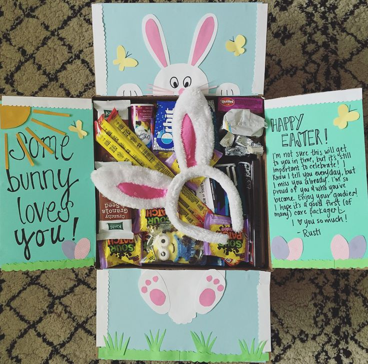 Easter deployment care package!