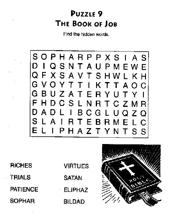 30 best images about bible worksheets on pinterest for Job bible lesson craft