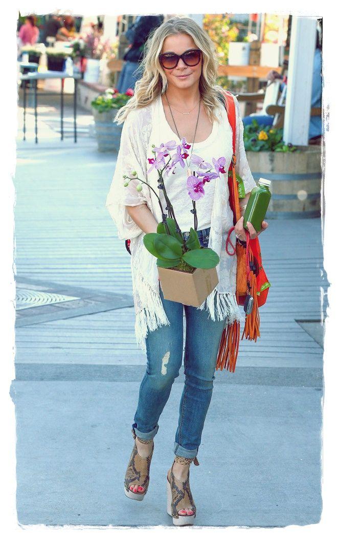 Leann Rimes Street Style 2014