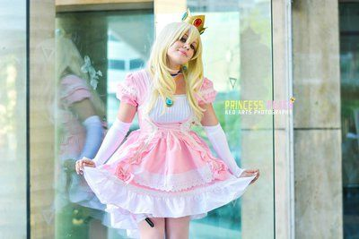 Image result for princess peach cosplay