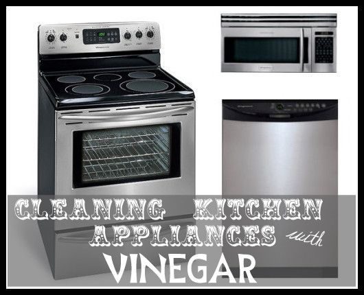 Cleaning Appliances with Vinegar