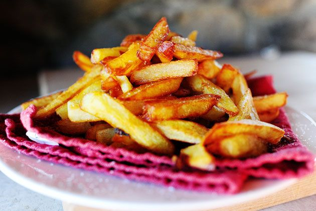 Belgian Fries .... yum! This is the best way to make fries.