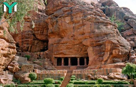 #BadamiTour - #Badami formerly known as #Vatapi, is a town and #headquarters of a #taluk by the same name, in the #Bagalkot district of #Karnataka, #India. It was the regal #capital of the #Badami #Chalukyas from 540 to 757 AD It is famous for rock cut and other structural #temples. It is located in a ravine at the foot of a rugged, red #sandstone outcrop that surrounds #AgastyaLake.  #TourismServices #BadamiTour #BadamiTourIndia #HotelBookingServicesBadami #TeamYatraMania #YatraMania