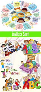 Yakamoz Eğitsel Tasarım: İngilizce Sınıfı Kapı Giydirme