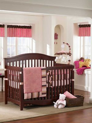 Modern Baby Room Design: Baby Girls